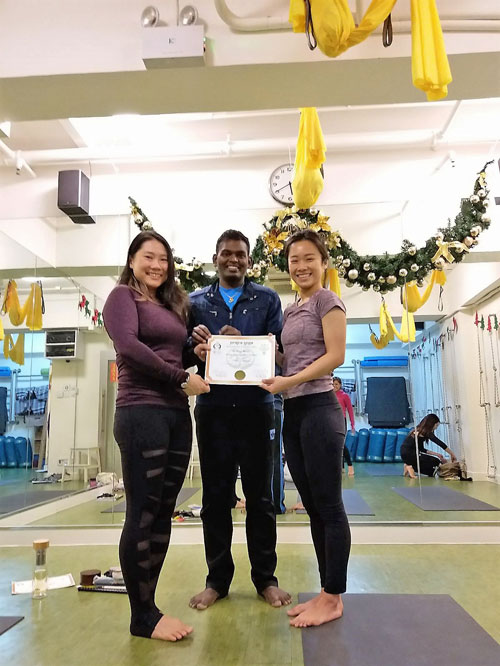 Aerial Teacher Training Course 2017