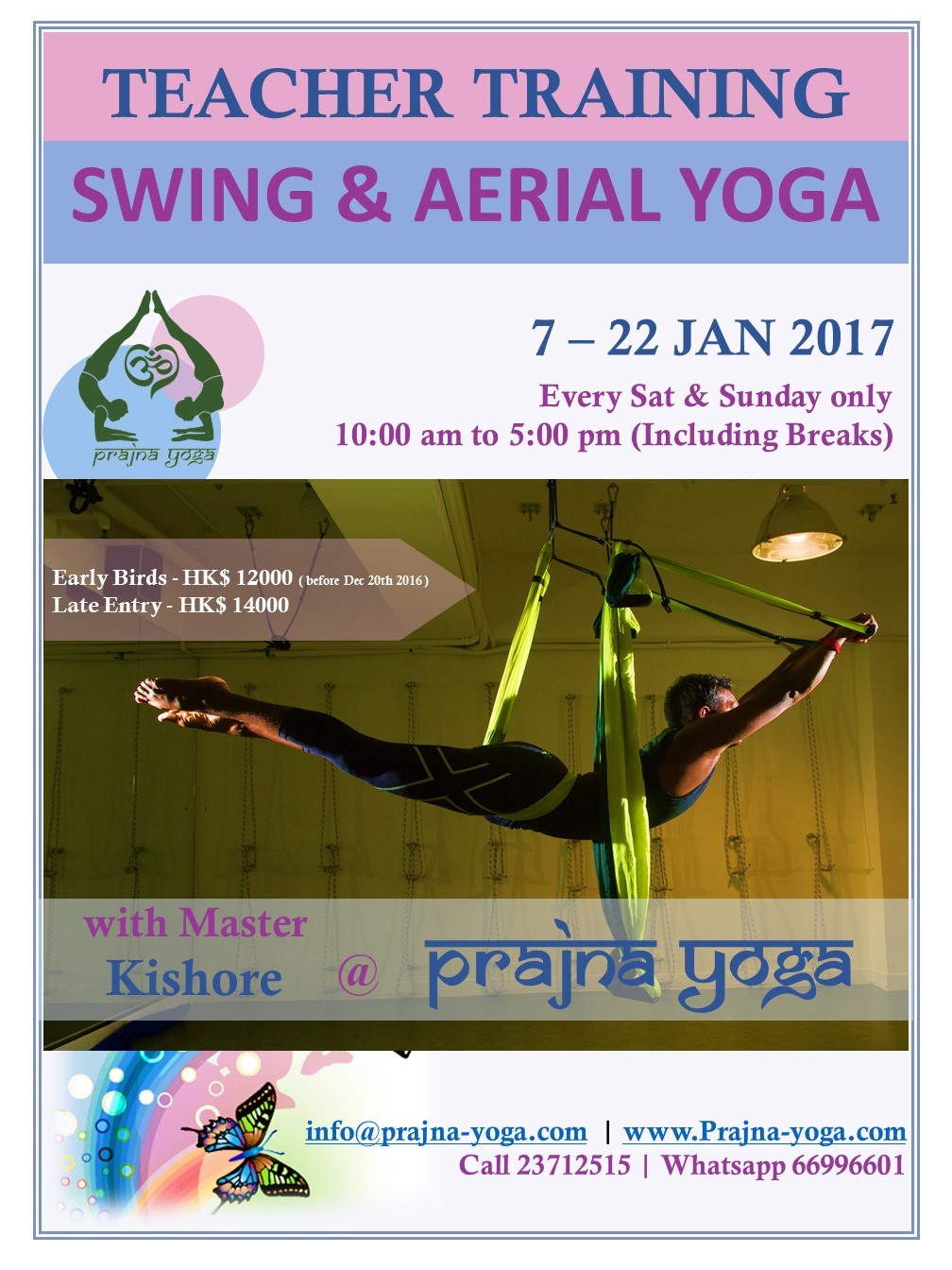 Swing & Aerial Yoga Teacher Training