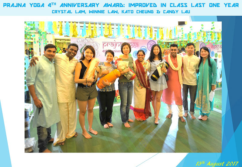 4th Anniversary Celebrations